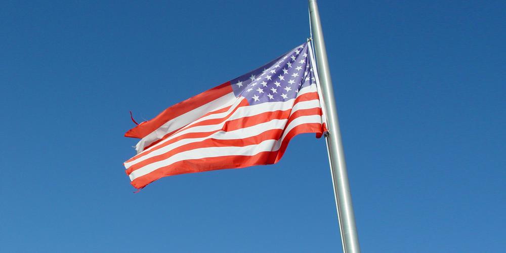 Addressing Suicide Rates Among Veterans: U.S. Flag.