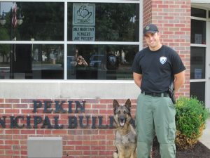 Aftermath 2017 K9 Grant Winner from Pekin PD.