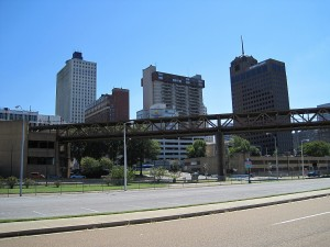 Buildings in Memphis, TN.