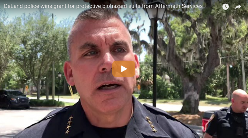 Deland Police Department PPE Kit Video