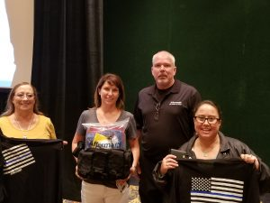 Aftermath awards prizes at the 2018 Florida Association of Medical Examiners Conference.