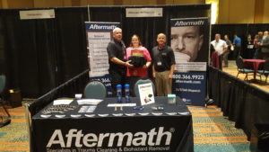 IHIA Conf. Aftermath booth.