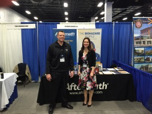 Aftermath attends MCoPA Tradeshow.