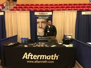 Kansas and Illinois Tactical Officer's Assoc. Conference Aftermath Booth
