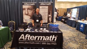 MCPA Conference Aftermath booth.