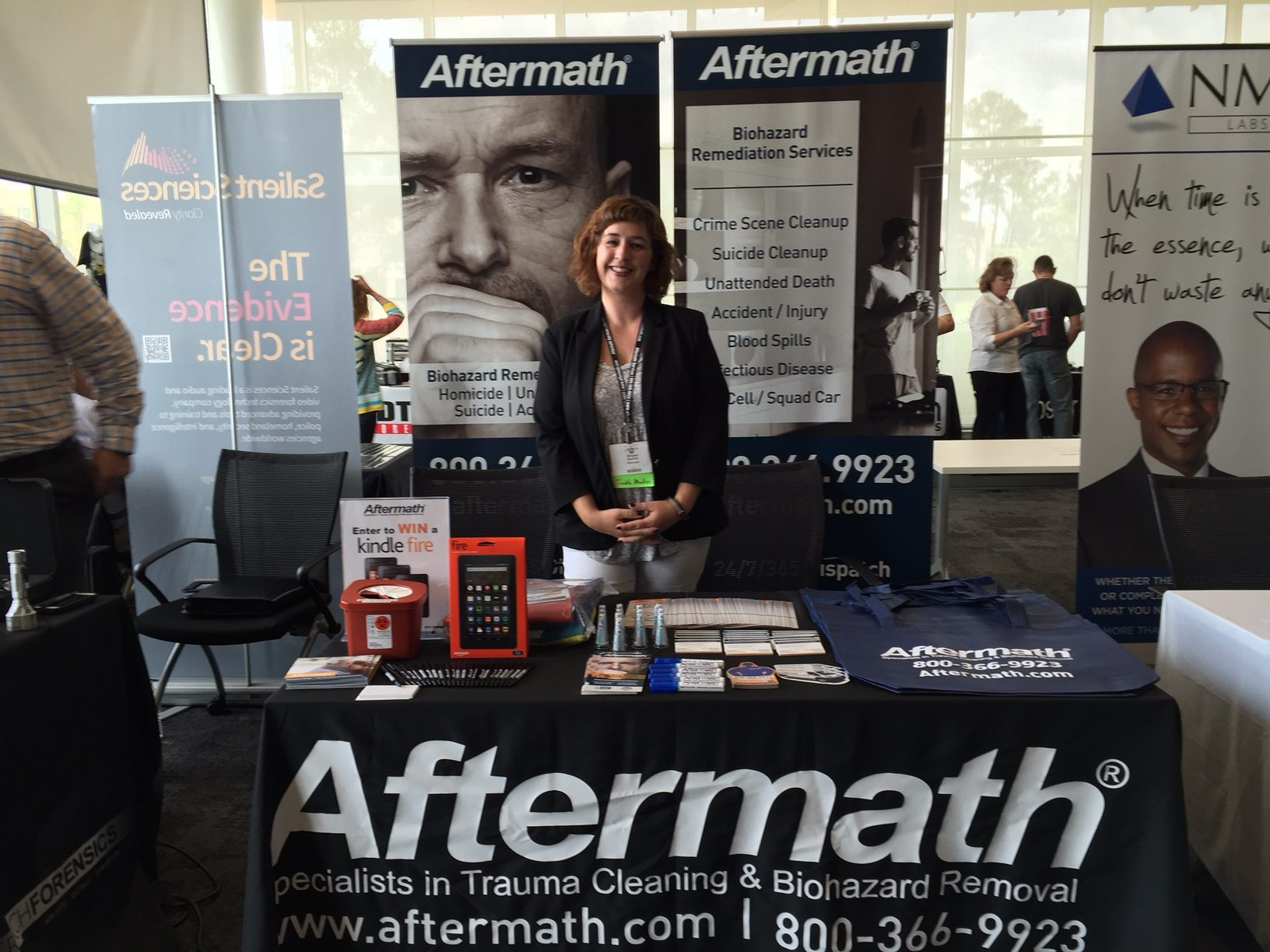 Aftermath Attends the North Carolina International Association for Identification Conference