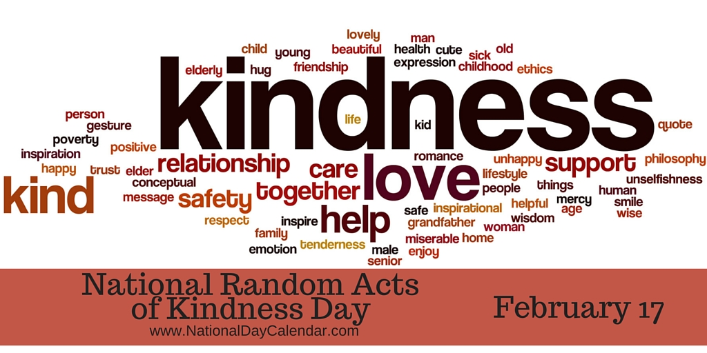 Join Aftermath for National Random Acts of Kindness Day