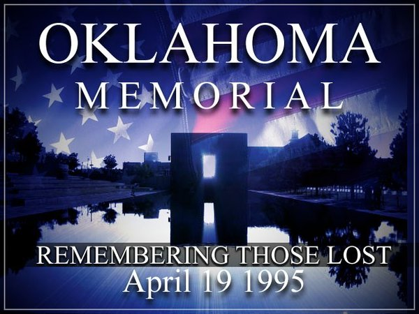 Oklahoma Memorial: Remembering Those Lost April 19, 1995.