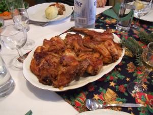 Rabbit Roast Christmas Dinner