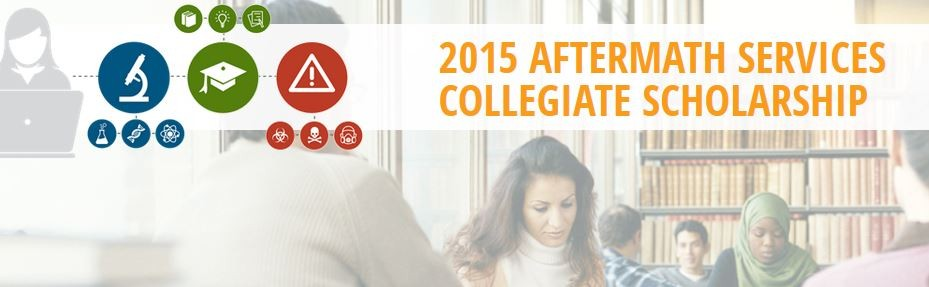 2015 Aftermath Services Collegiate Scholarship.