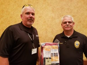 Tennessee Assoc. of Chiefs of Police with PPE Kit.