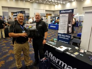 Winner of PPE kit at Tennessee Association of Chiefs' of Police Conference.