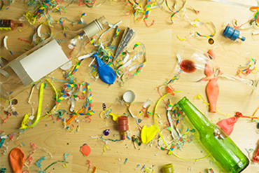 5 Tips to Help With Your Superbowl Party Cleanup