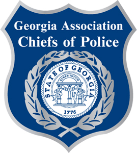 Georgia Association Chiefs of Police logo.