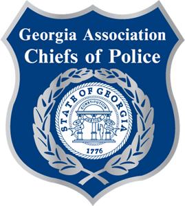 Georgia Association Chiefs of Police logo.