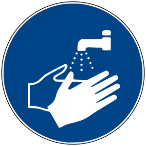 Hand washing icon.