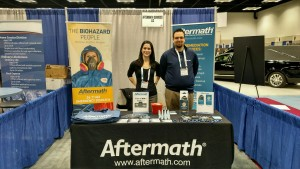 Aftermath booth at 2015 NFDA Conf.