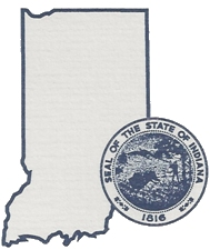 Seal of State of Indiana