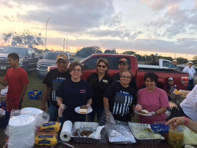 Aftermath joins community in Mathis, TX for 2017 National Night Out.