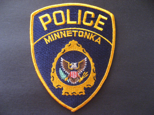 Minnetonka police patch.