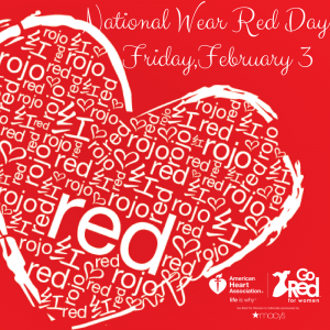 Aftermath urges you to celebrate National Wear Red Day.