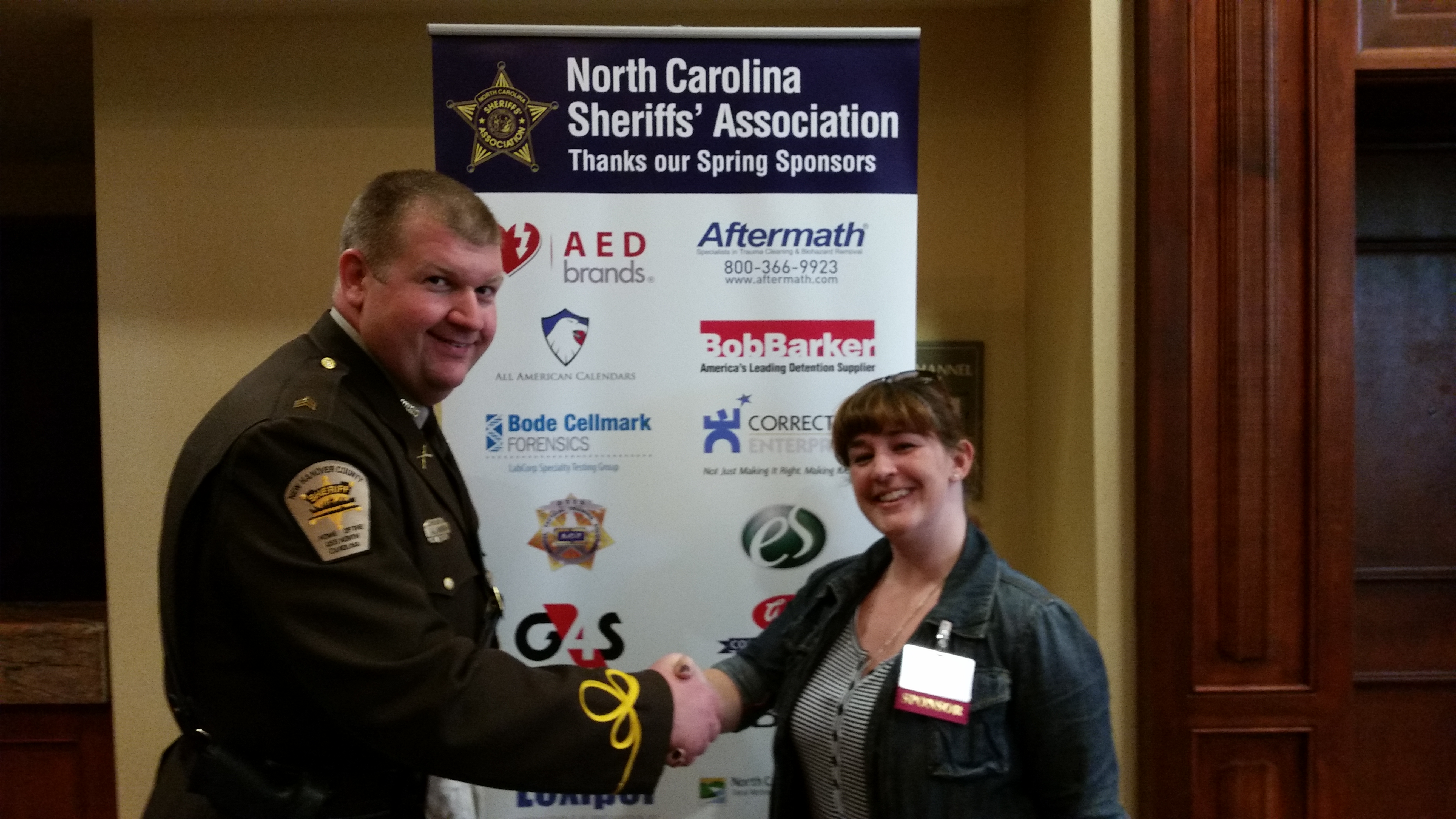Aftermath Attends the 2016 NCSA Spring Meeting