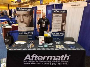 Aftermath at 2018 National Sheriffs' Assoc. Conference