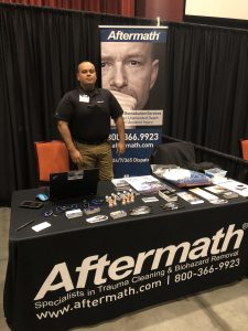 2018 Oklahoma Assoc. of Chiefs of Police Aftermath Booth