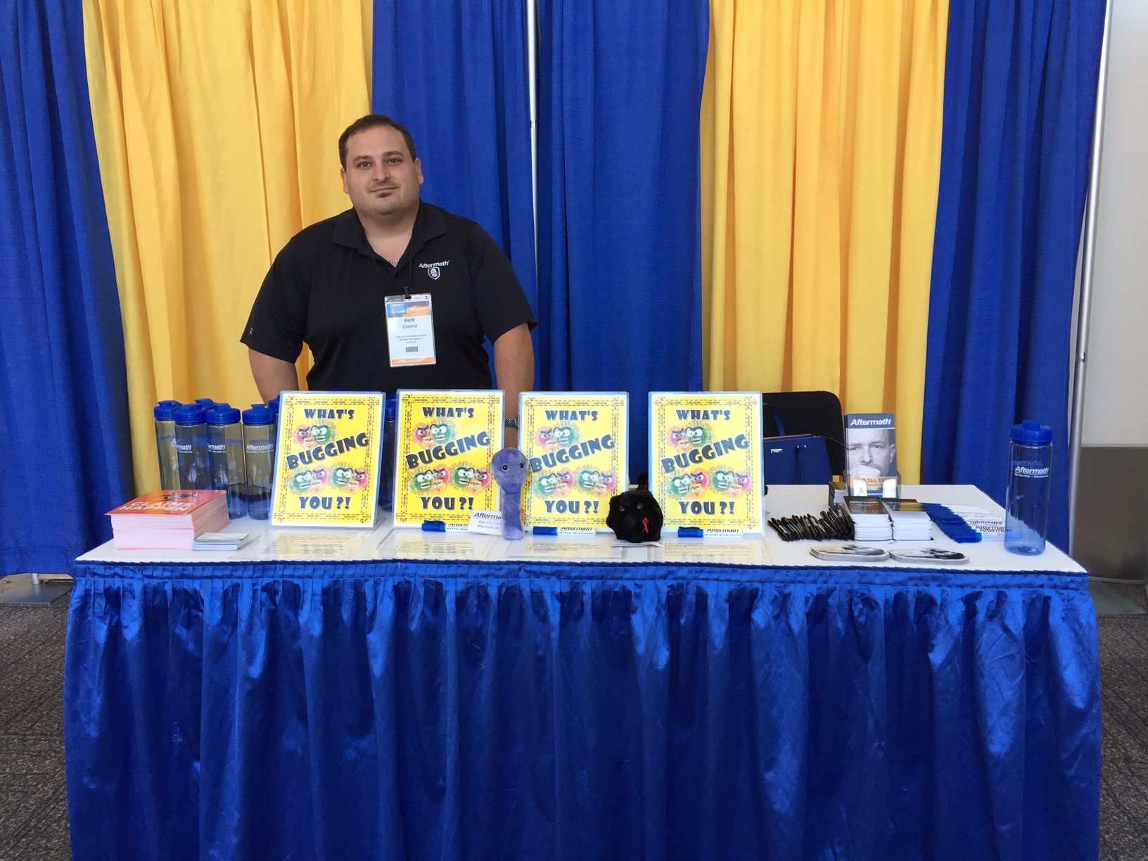 PLRB 2016 Aftermath Booth in CA.