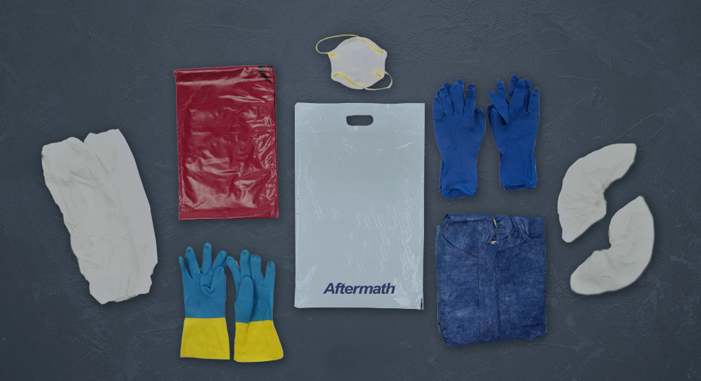 PPE Kit contents.